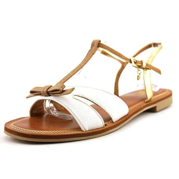 Yellow Box Women's 'Chastity' Faux Leather Sandals