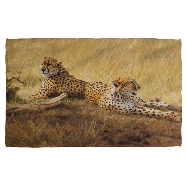 Wild Wings/African Cats 2 Beach Towel