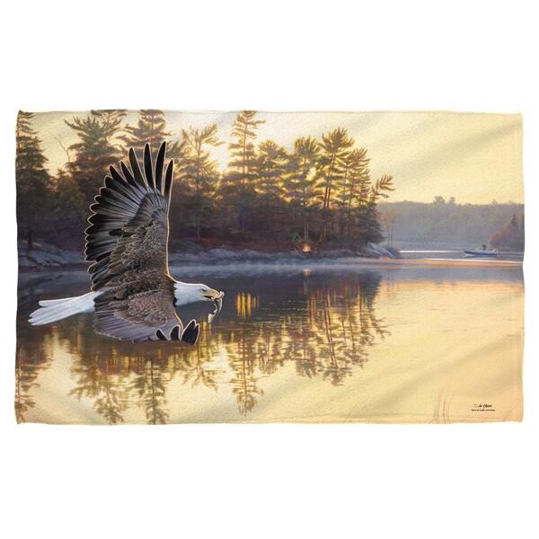 Wild Wings/Gone Fishing 2 Beach Towel