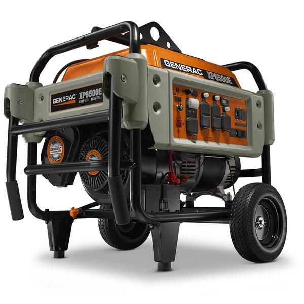 Generac D45930 6,500-watt Electric Start Portable Generator, EPA/49 State/CSA-Canada 19712717