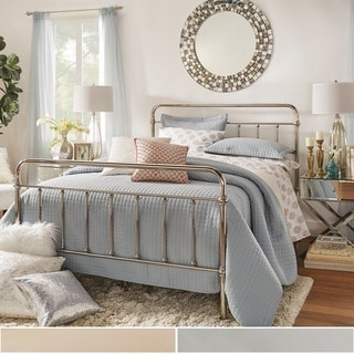 INSPIRE Q Giselle Graceful Lines Victorian Chrome Metal Bed
