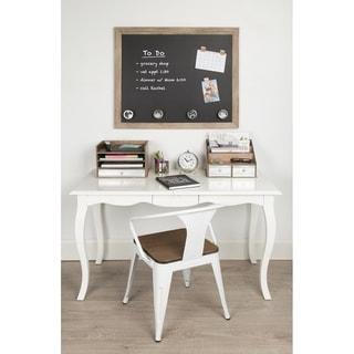 Beatrice Brown Framed Magnetic Chalkboard