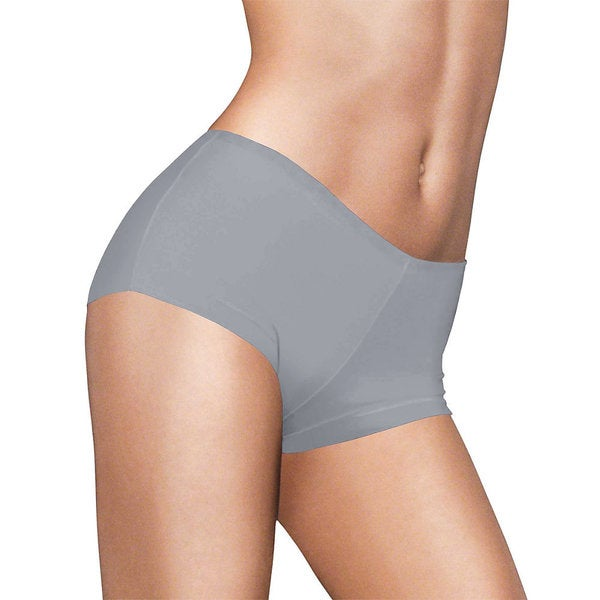 Maidenform Women's Comfort Devotion Morning Fog/Stone Tailored Boy Shorts