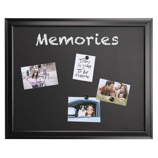 Bosc Framed Magnetic Chalkboard