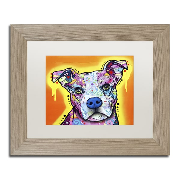Dean Russo 'A Serious Pit' Matted Framed Art