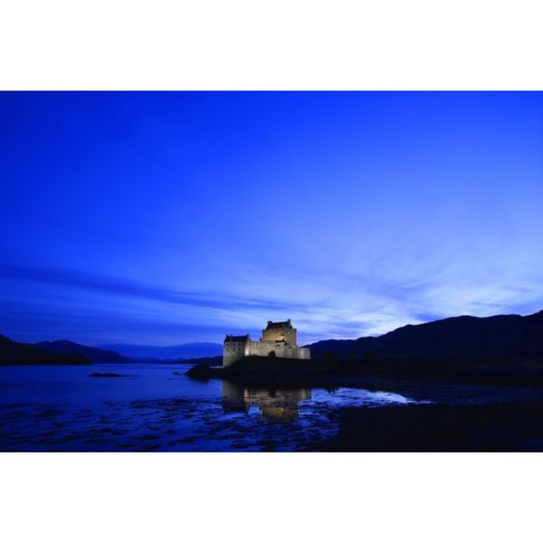 Design Pics 'Castle in Scotland' Gallery Wrapped Canvas