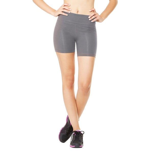 Fitted Women's Dark Grey Heather Short