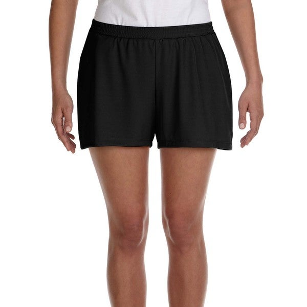 Women's Performance Black Short