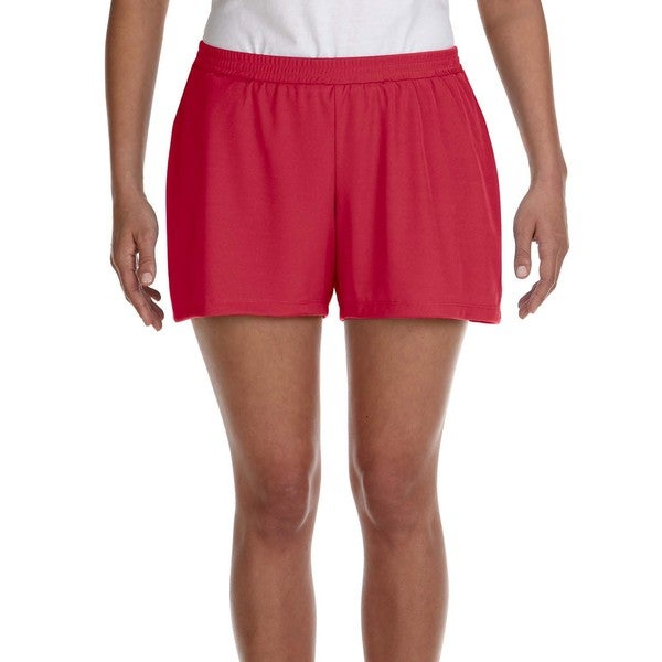 Women's Red Performance Short Sport