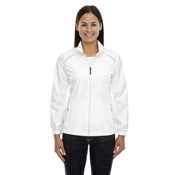 Motivate Women's Unlined Lightweight White 701 Jacket