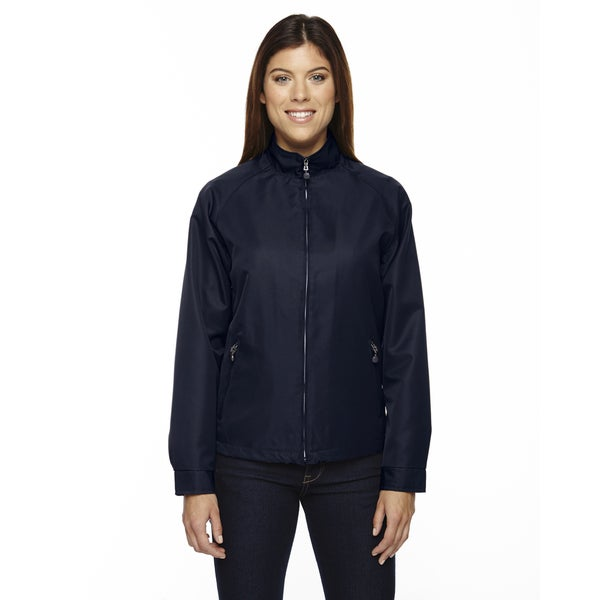 Mid-length Women's Micro Twill Midnight Navy 711 Jacket