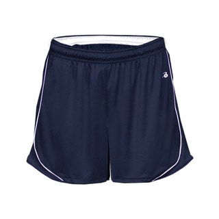 3-inch Inseam Women's Pacer Performance Navy/ White Short