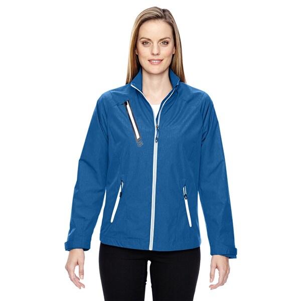 Frequency Women's Lightweight Melange Nautical Blue 413 Jacket