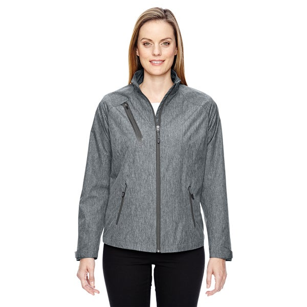 Frequency Women's Lightweight Melange Light Grey 443 Jacket