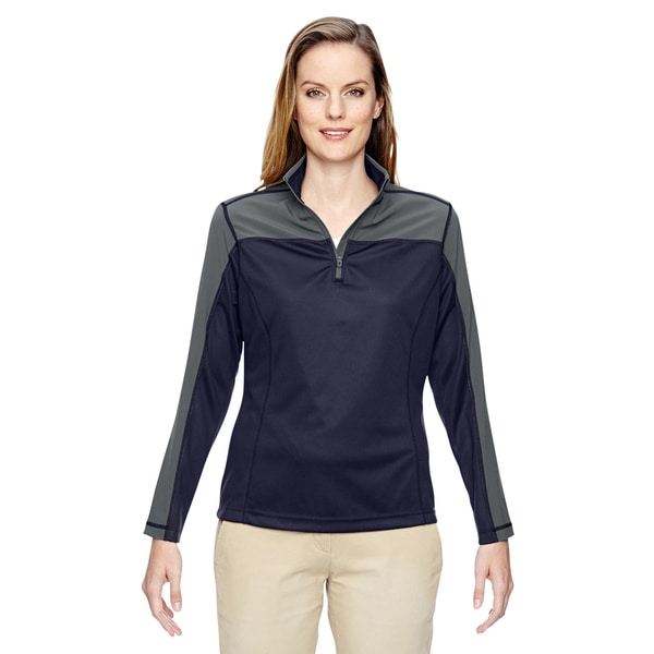 Excursion Women's Navy 007 Circuit Performance Half-zip
