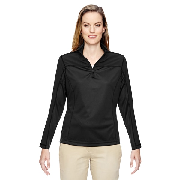 Excursion Women's Black 703 Circuit Performance Half-zip