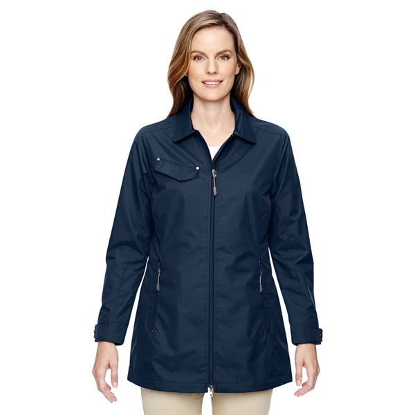 Excursion Women's Ambassador Lightweight with Fold Down Collar Navy 007 Jacket