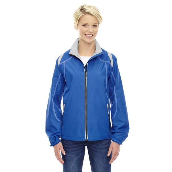 Endurance Women's Lightweight Colorblock Nautical Blue 413 Jacket