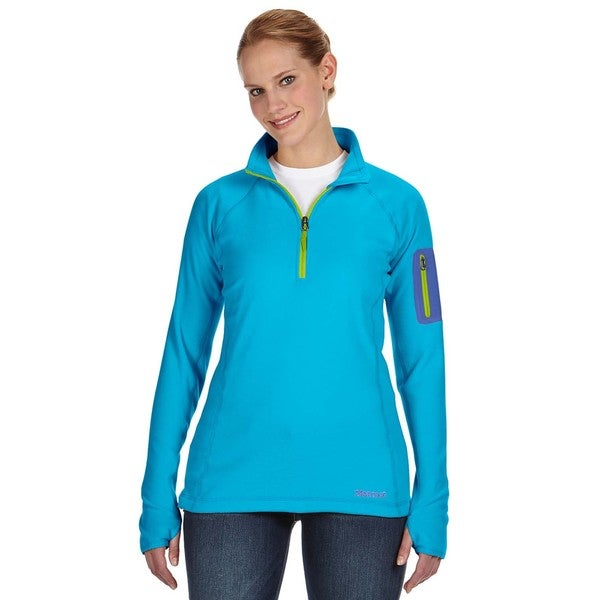 Flashpoing Women's Half-zip Atomic Blue Sweater