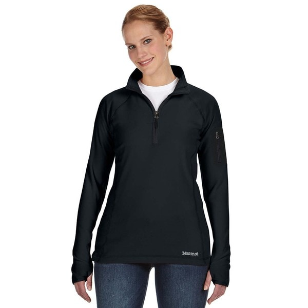 Flashpoing Women's Half-zip Black Sweater