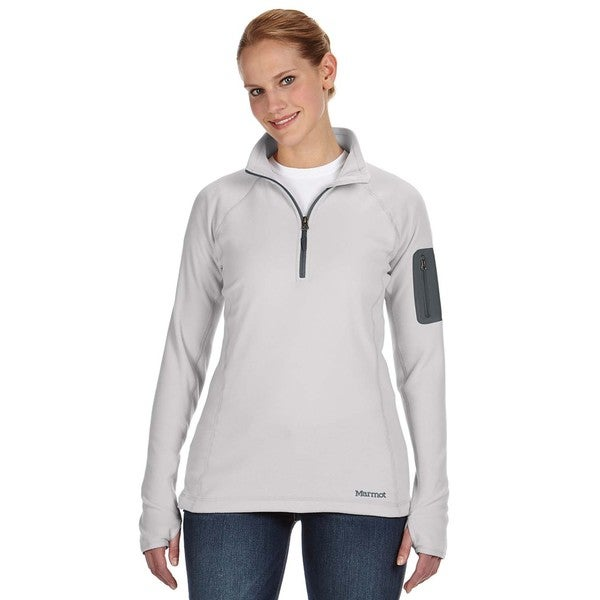 Flashpoing Women's Half-zip Platinum Sweater