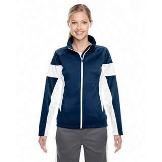 Elite Women's Dark Navy/ White Performance Full-zip Sport
