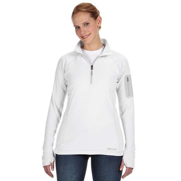 Flashpoing Women's Half-zip White Sweater