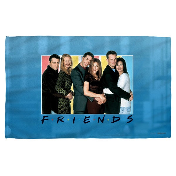 Friends/Skyline Beach Towel