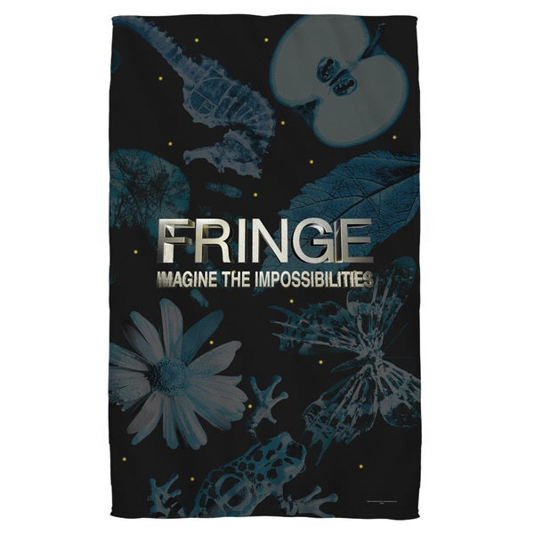 Fringe/Logo Beach Towel