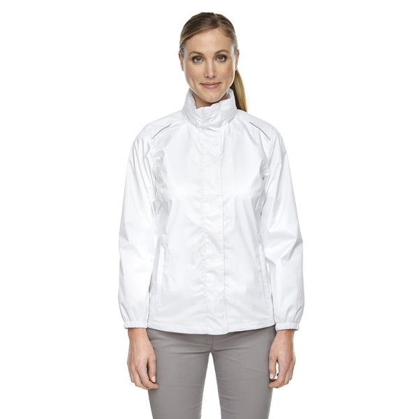 Climate Women's Seam-sealed Lightweight Variegated Ripstop White 701 Jacket