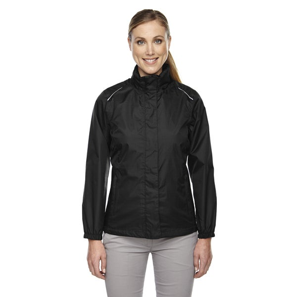 Climate Women's Seam-sealed Lightweight Variegated Ripstop Black 703 Jacket