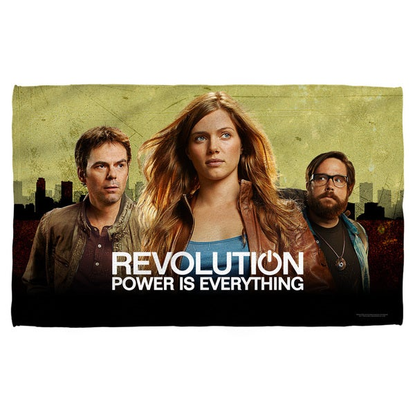 Revolution/Dark City Beach Towel