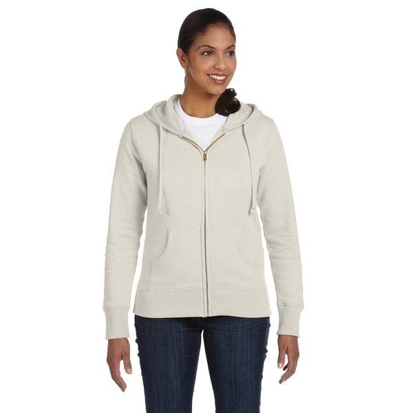 Women's Organic/ Recycled Polar Bear Full-zip Hoodie