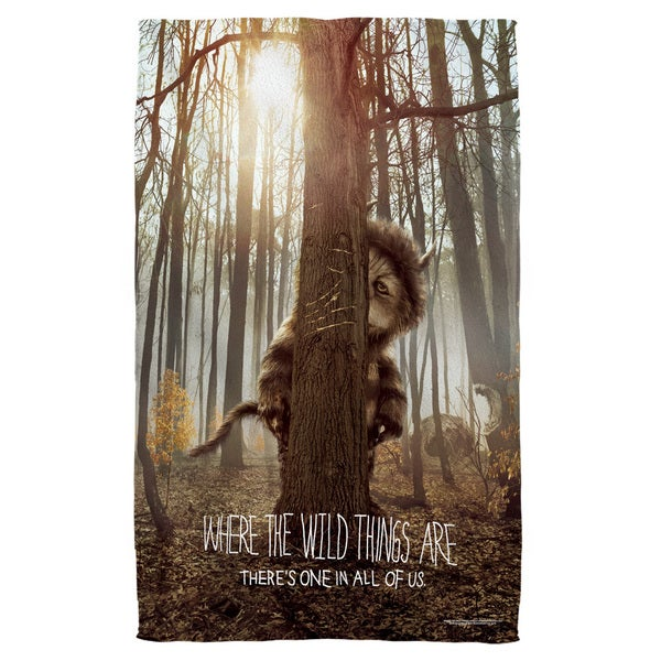 Where The Wild Things Are/Wild Thing Tree Polyester Beach Towel 19716958