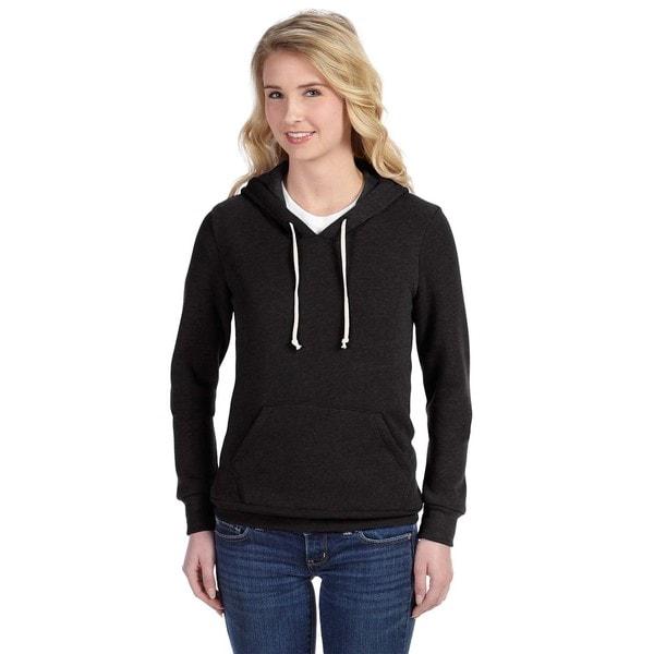Athletics Women's Eco Black Hoodie