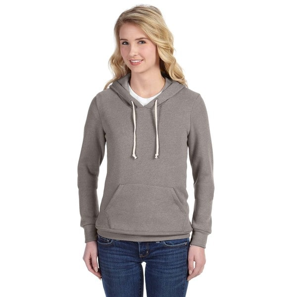 Athletics Women's Eco Grey Hoodie