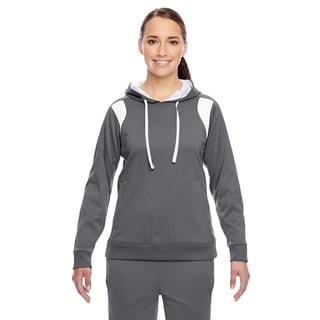 Elite Women's Performance Sport Graphite/ White Hoodie