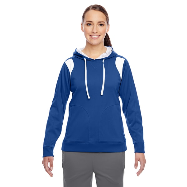 Elite Women's Performance Sport Royal/ White Hoodie 19717206