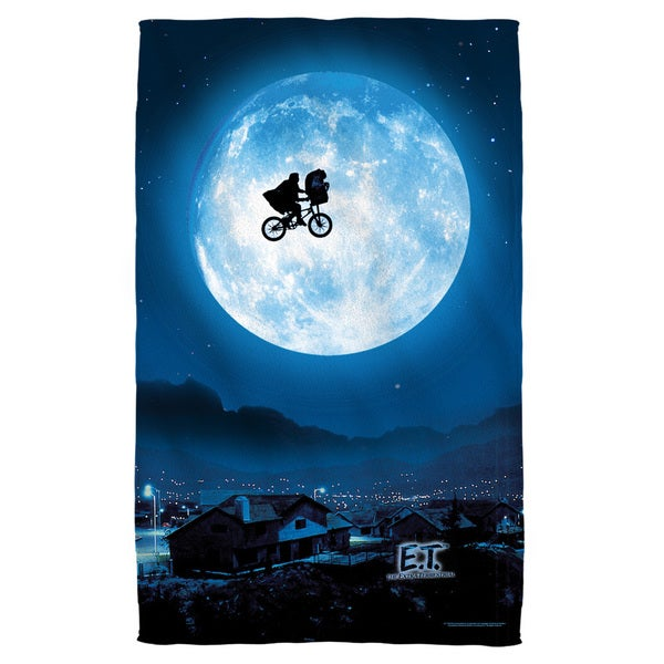 Et/Moon Beach Towel
