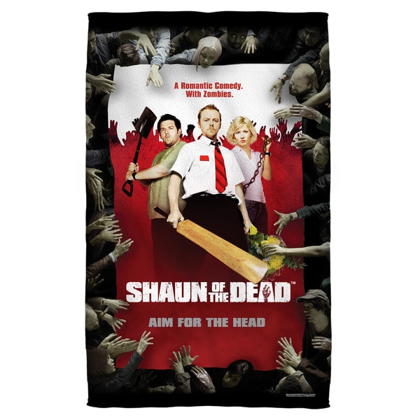 Shaun Of The Dead/Poster Beach Towel