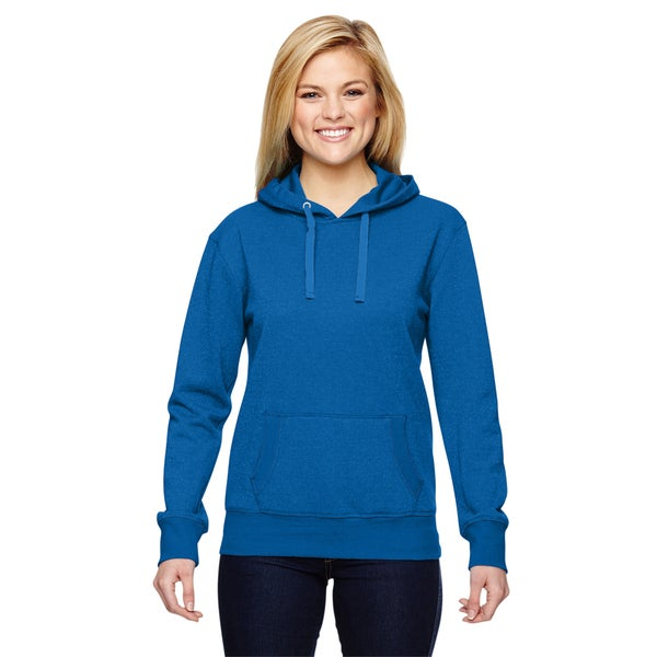 Glitter French Women's Terry Royal Hoodie 19717509