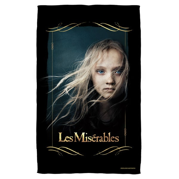 Les Miserables/Girl Beach Towel