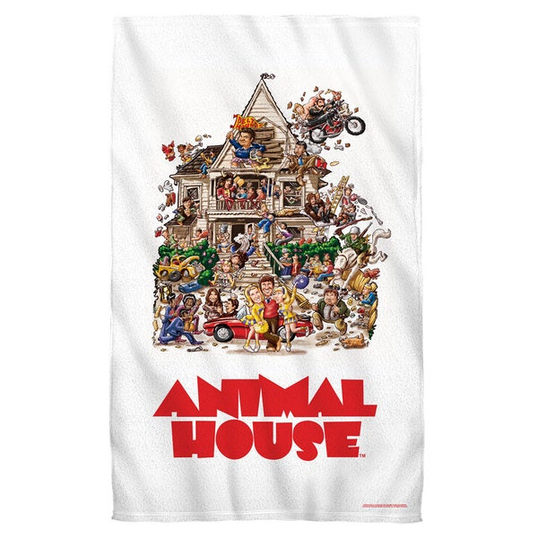 Animal House/Poster Beach Towel