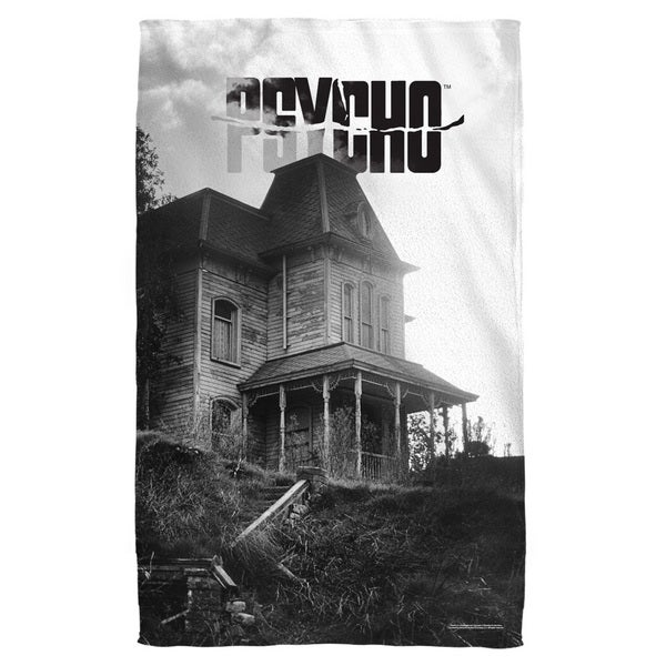 Psycho/House Beach Towel
