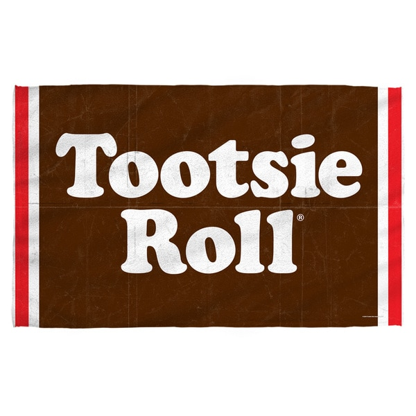 Tootsie Roll/Wrapper Beach Towel