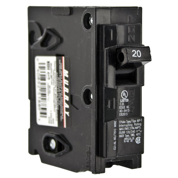 Murray 20 Amp 20A 1 Pole MP120 MP 120 Circuit Breaker OLD STYLE