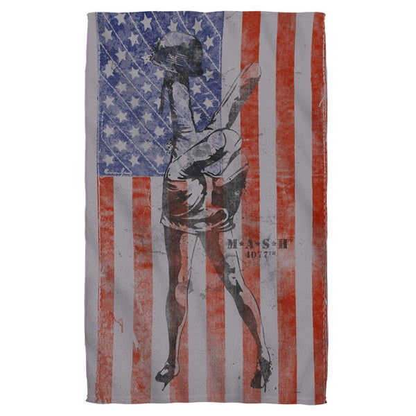 Mash/Flagged Beach Towel