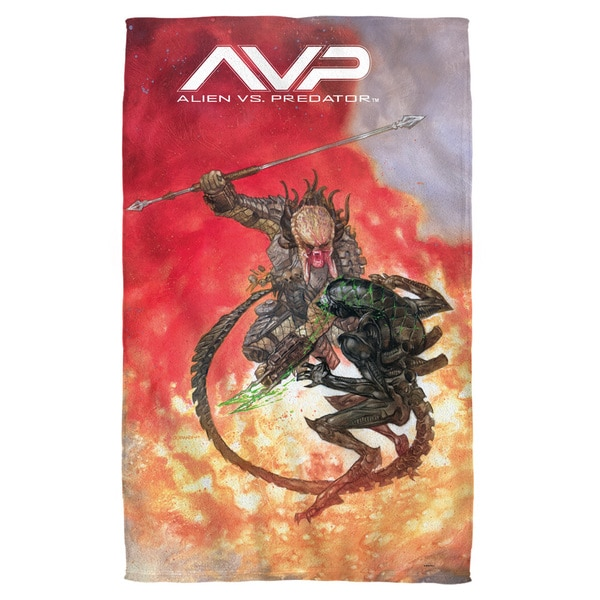 Alien Vs Predator/Brutal Battle Beach Towel