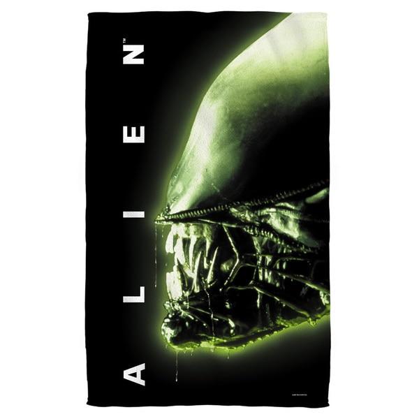 Alien/Head Beach Towel