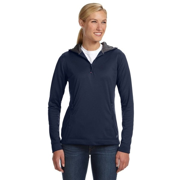 Tech Fleece Quarter-zip Women's Hoodie Navy Pullover 19717904
